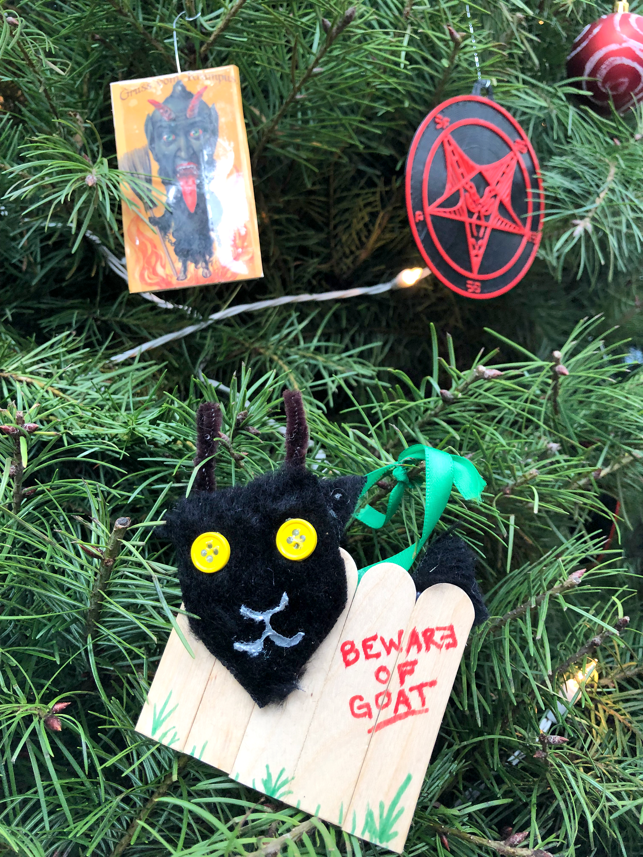 Satanic Bay Area's statement on the theft of holiday