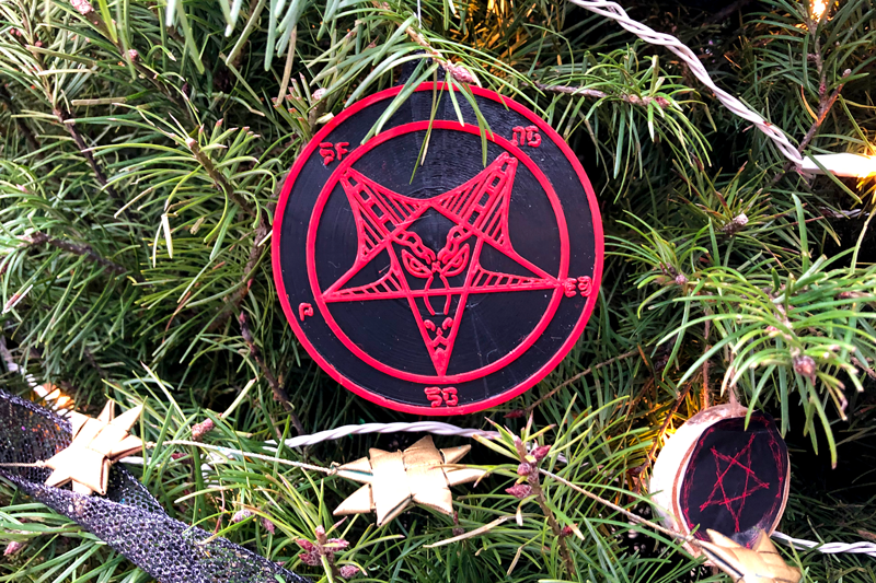 Satanic Bay Area's statement on the theft of holiday decorations from San Jose's Christmas in the Park