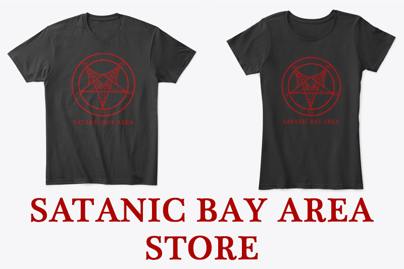 Satanic Bay Area merch is here!
