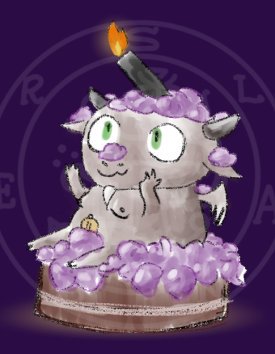 Birthday Baphomet