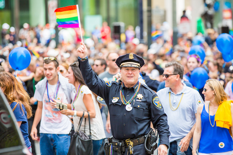 San Francisco Pride, With Rage on the Side