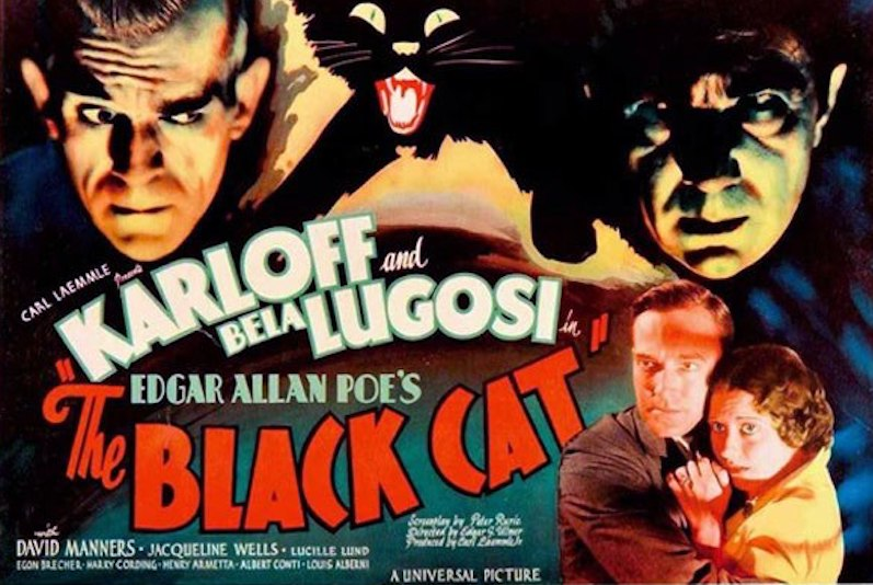 Movie:  The Black Cat (1934)