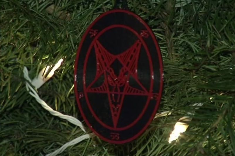 Every year someone asks why Satanists would want a Christmas tree? But we'd be better off asking, why does ANYONE want a Christmas tree?